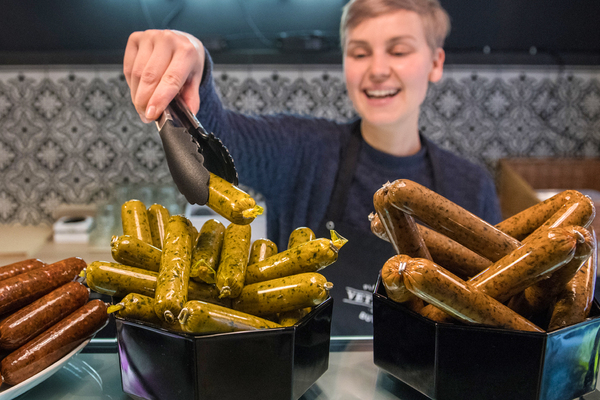 Растительное мясо от Impossible Foods