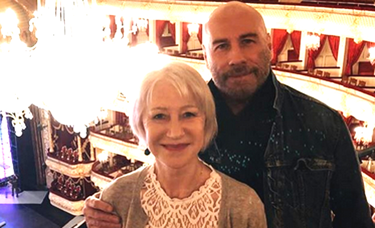Хелен Миррен и Джон Траволта вручили классическую премию на сцене Большого театра