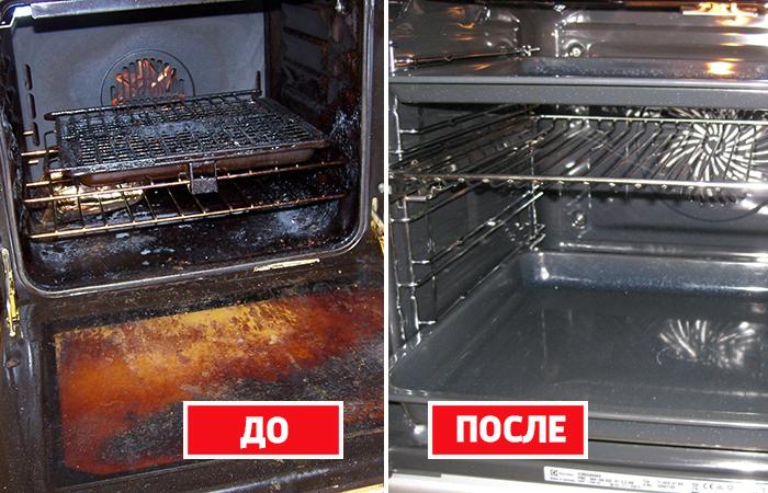 Как разобраться с пригоревшим жиром в духовке быстро и эффективно