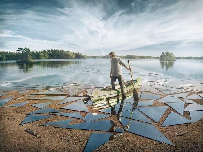 Немного сюрреализма от шведского фотографа Эрика Йоханссона фотография, Искусство, Эрик Йоханссон, длиннопост