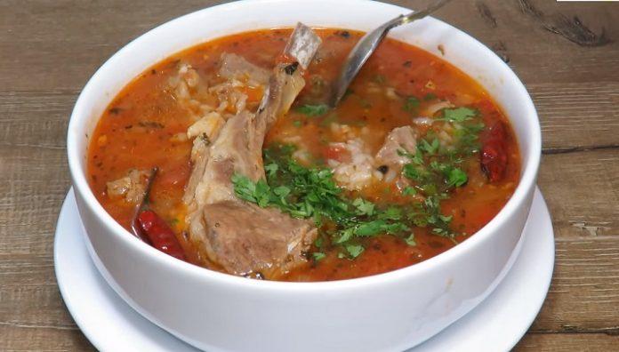 Настоящий, очень вкусный суп «Харчо»: пошаговый процесс приготовления