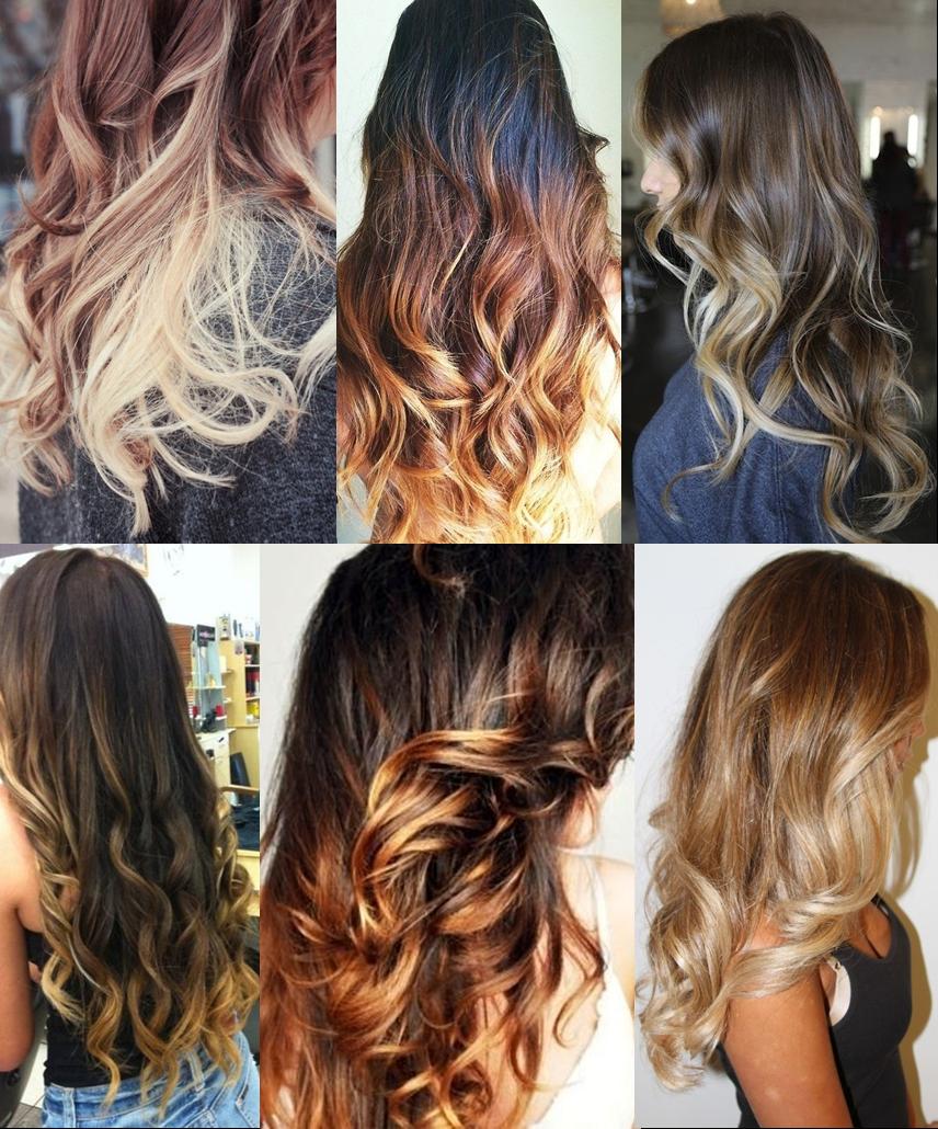 Окрашивание волос омбре на длинные волосы в домашних условиях