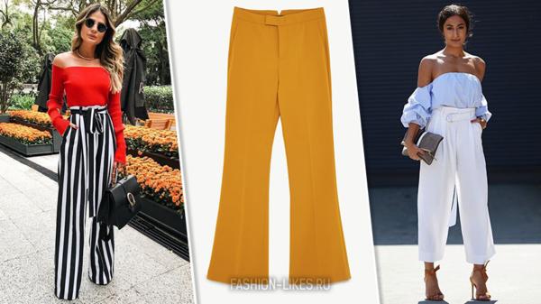 16 стильных примеров, как носить самые модные брюки сезона