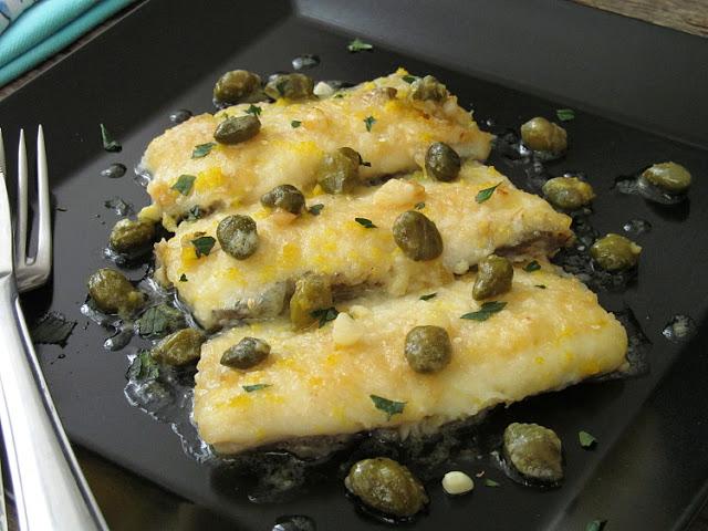 Пикката из рыбы (Fish piccata)