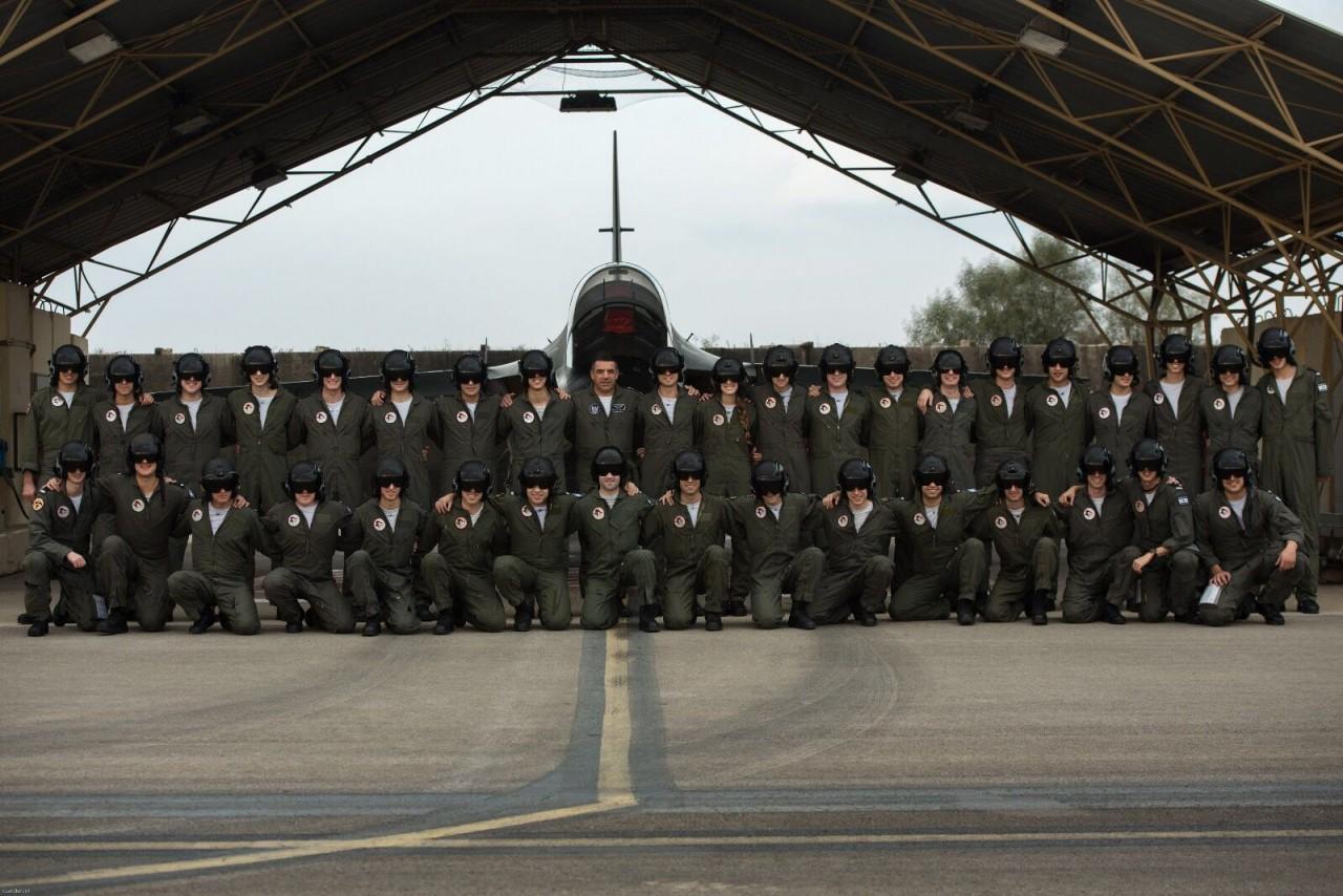 Выпуск курсантов в ВВС Израиля