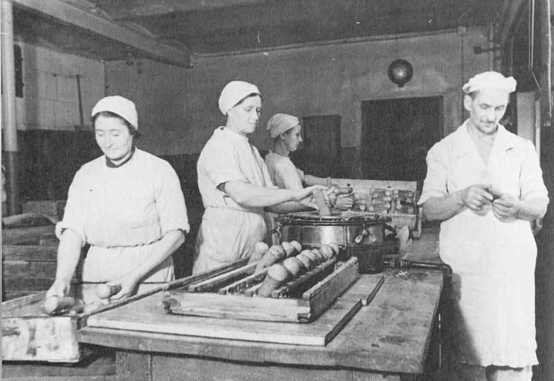 Рынок в блокадном Ленинграде…
