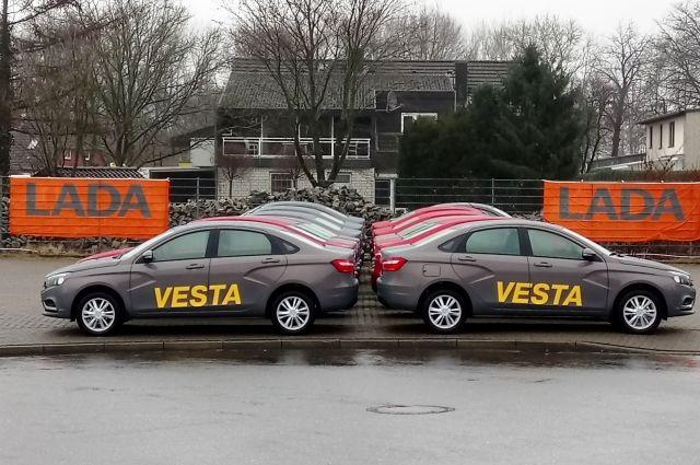 Lada Vesta стала самым продаваемым автомобилем в России в январе