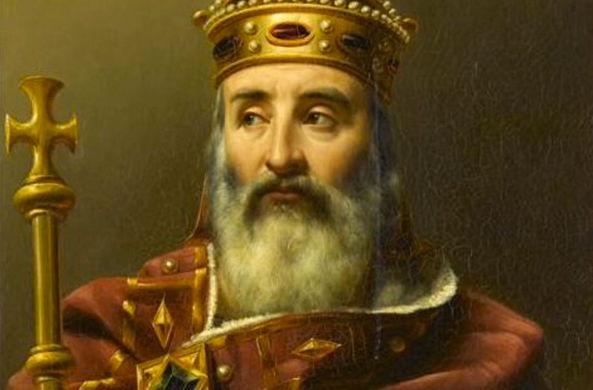 Все жители Европы названы потомками одного короля