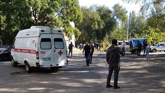 Врачи показали «начинку» взорвавшейся в Керчи бомбы