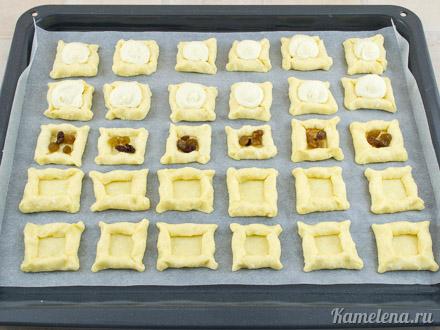 Двойное творожное печенье — 10 шаг