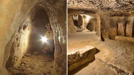 12 000 лет назад люди путешествовали из Шотландии в Турцию по подземным туннелям!