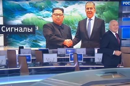 «Россия-1» пририсовала Ким Чен Ыну улыбку