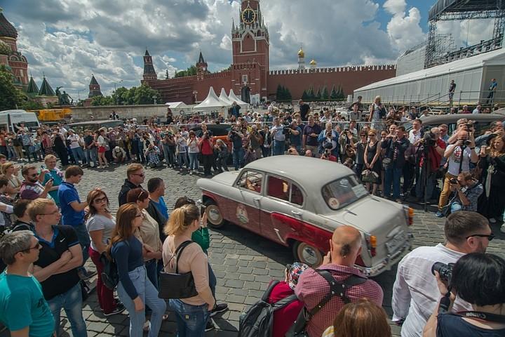 На Красной площади 21 июля стартует ГУМ-Авторалли