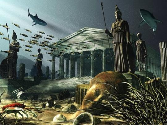 Очередную Псевдо-Атлантиду якобы обнаружили в Сахаре...