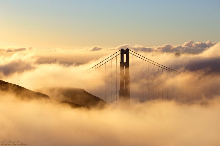 Сан-Франциско— город мостов и туманов