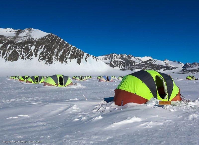 Антарктида: реальное путешествие на край Земли антарктида, интересно, пик Винсона, путешествие, скалолазание, фотоотчет