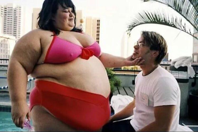 Секс с толстушкой