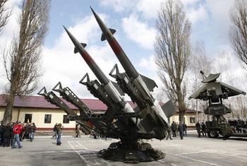 Атакованный ДНР беспилотник ОБСЕ снял на видео запуск ракет ополченцев