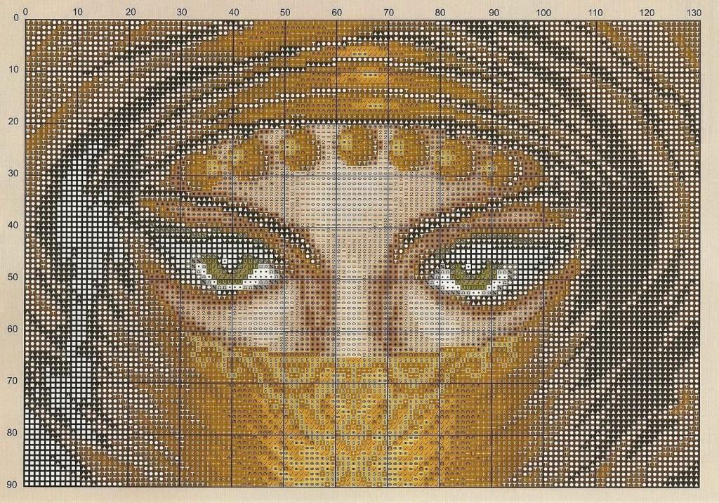 Арабская тематика вышивка крестом 18