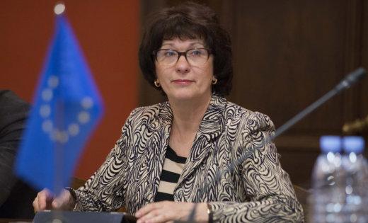 Евродепутат отЛатвии Калниете намерена остановить «агрессию России»