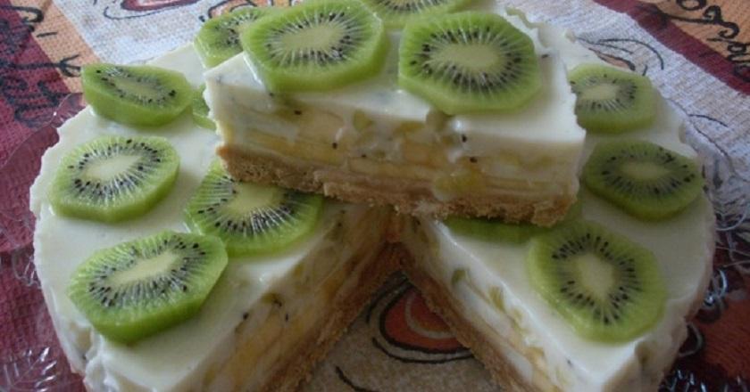 Йогуртовый торт без выпечки.