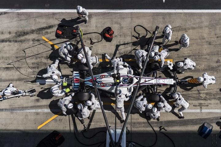 Williams Martini Racing: вре…