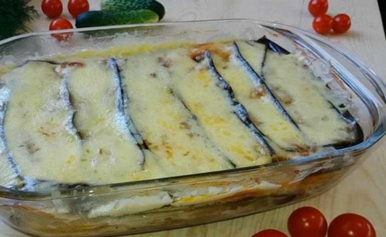 Запеканка с фаршем и баклажанами: сочное и сытное блюдо