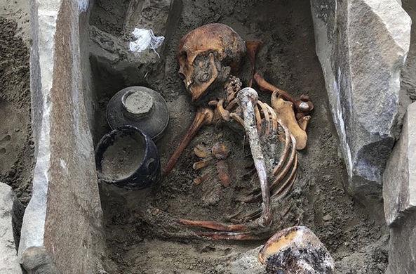 В Туве археологи нашли мумию I века до н. э.