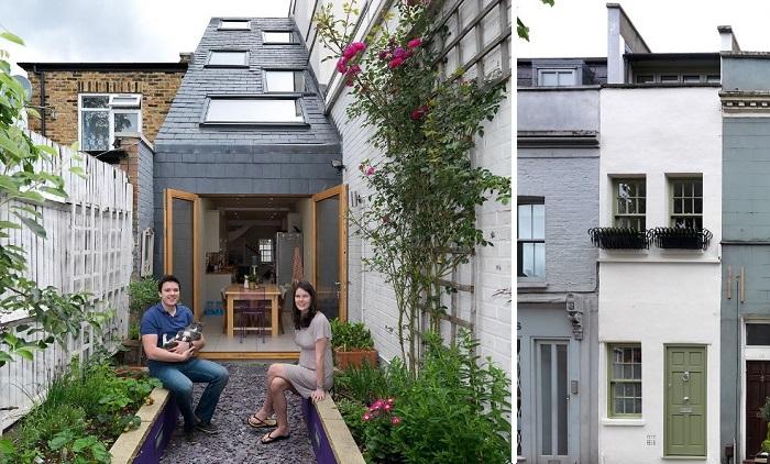 Крошечное пространство уюту не помеха: Как обустроены три самых маленьких дома Англии