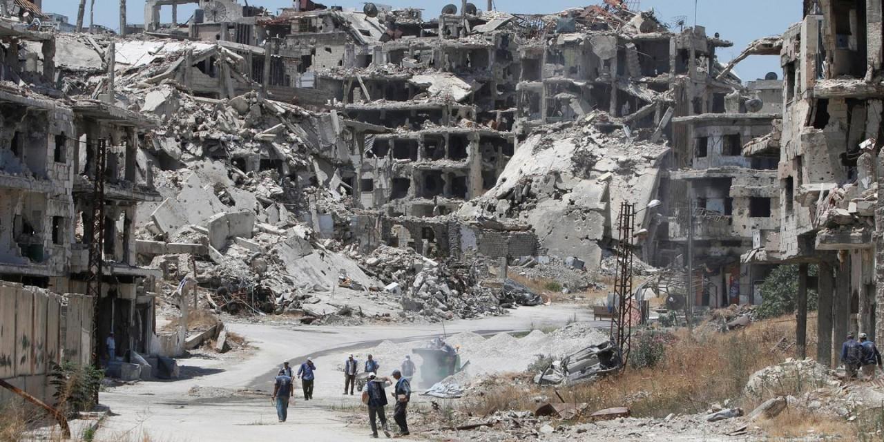 США введут новые санкции против России и Ирана за восстановление Сирии
