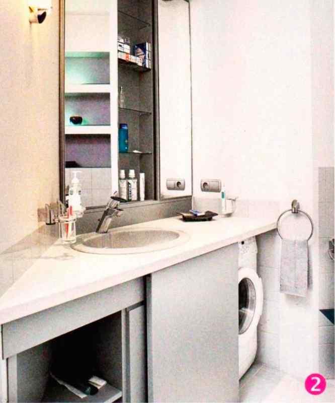 Ванная со стиральной машиной фото