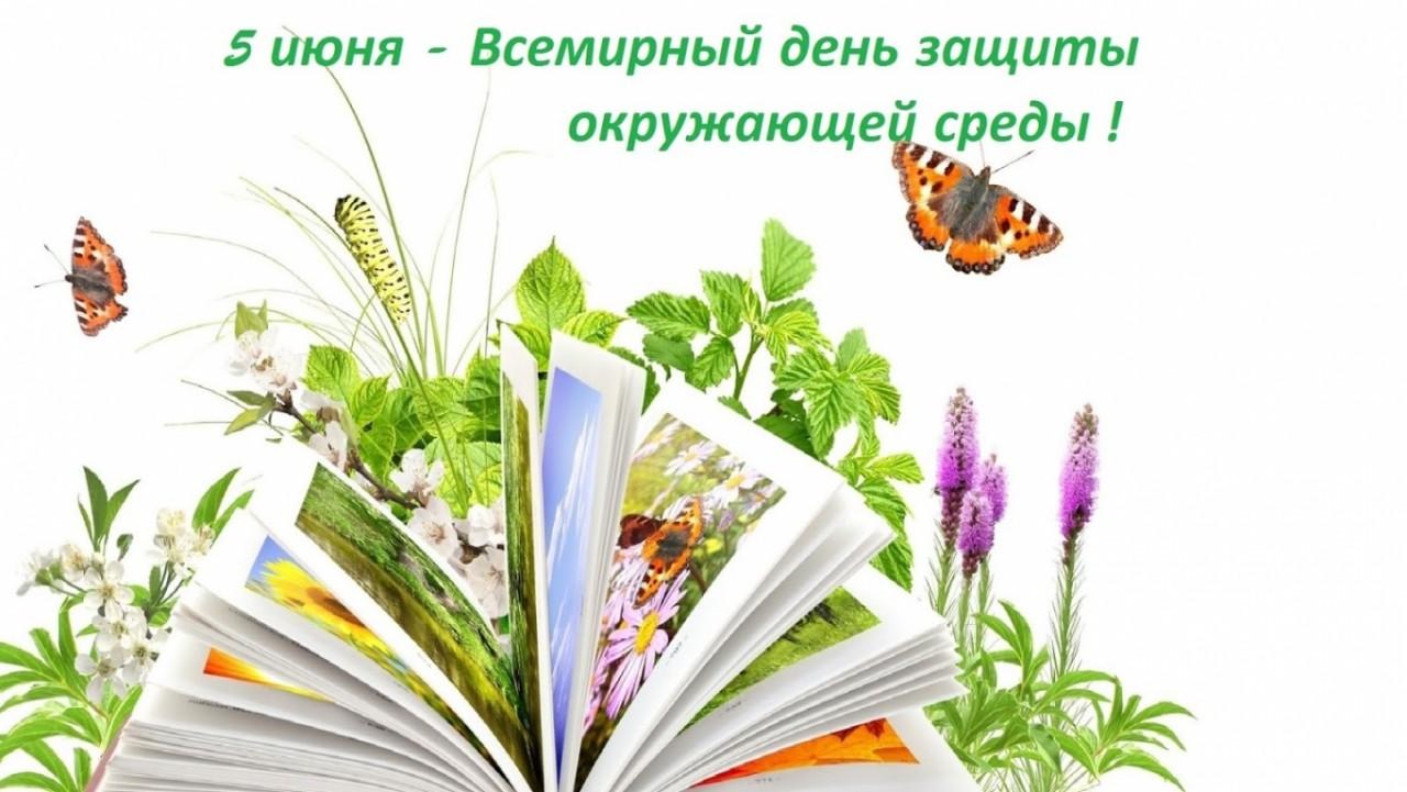 5 июня - Всемирный день окружающей среды и День эколога в России