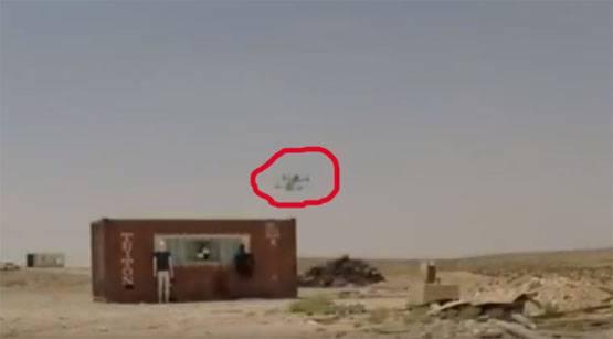 Тесты для израильского ударного беспилотника-камикадзе Rotem