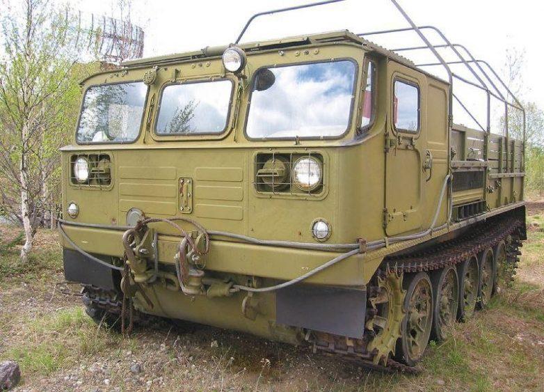 Необычная советская спецтехника и вездеходы