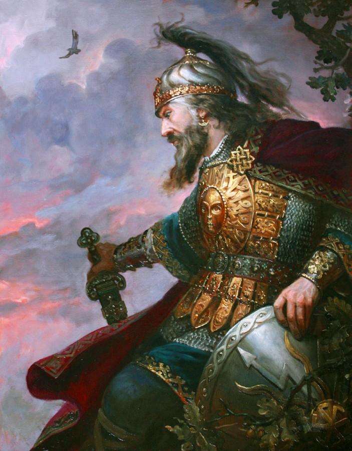 Языческие боги у славян, худ…