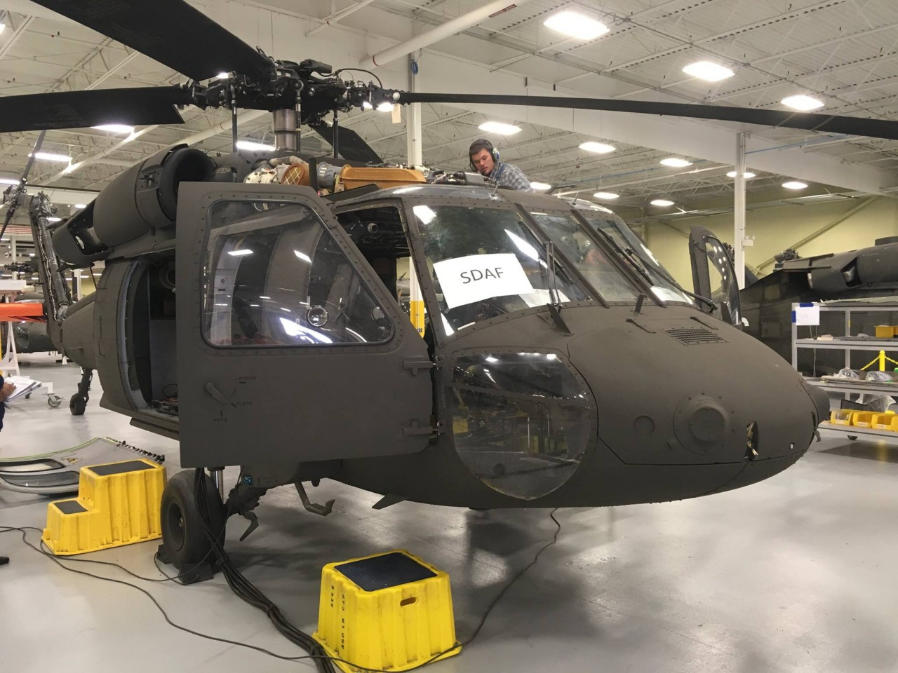 Первый вертолет UH-60А+ Black Hawk для ВВС Афганистана