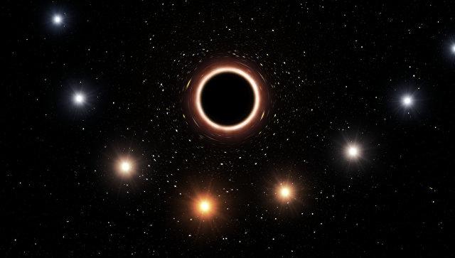 Черная дыра в центре Галактики подтвердила теорию Эйнштейна