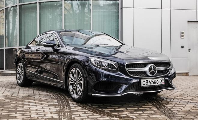 Тест-драйв: Mercedes-Benz S560 4Matic Coupe