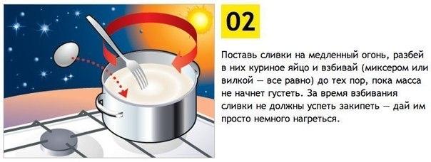 Как самому сделать вкусное мороженое.