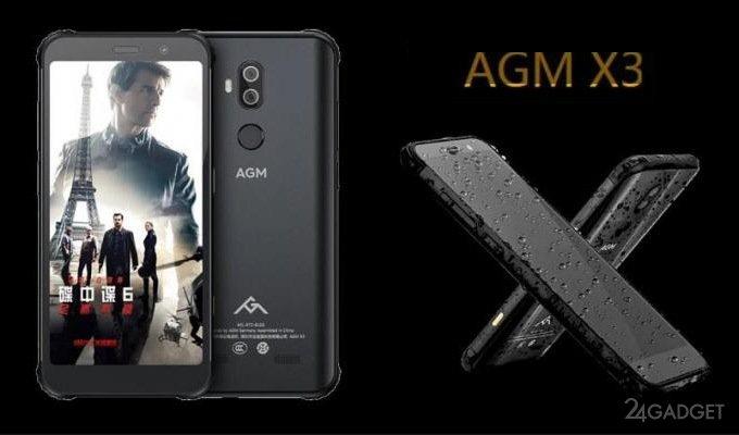 AGM X3 — сверхзащищённый смартфон с флагманской начинкой (9 фото)
