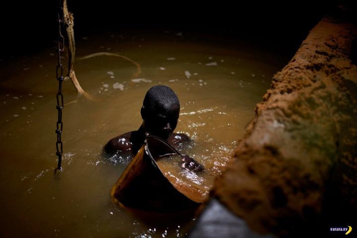 Работа мечты – добыча песка в Мали