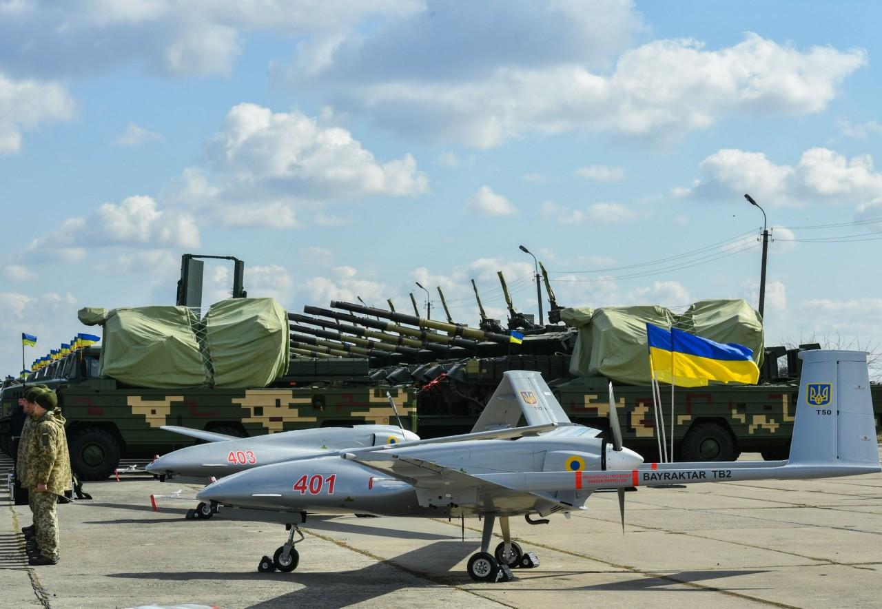 Украина получила турецкие беспилотные летательные аппараты Bayraktar TB2