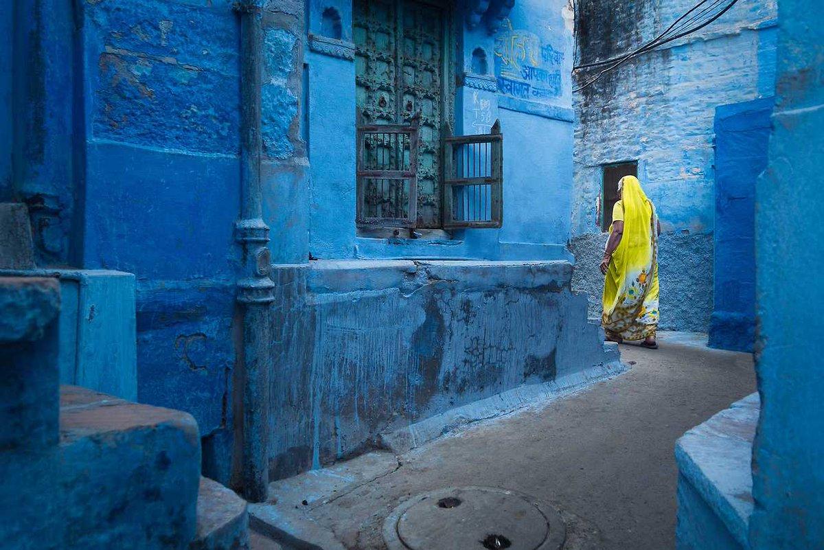 Лазурный Джодхпур— сказочный город вИндии
