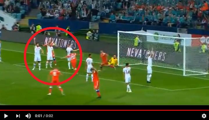 Опубликовано видео лучших моментов матча Россия – Турция