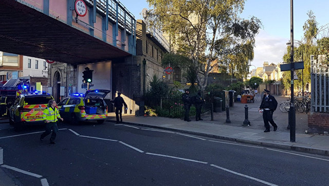 В Лондонском метро люди пострадали в давке в результате паники после взрыва