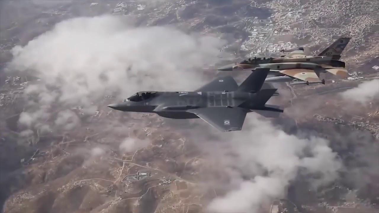 Израильский F-16 укрылся от …