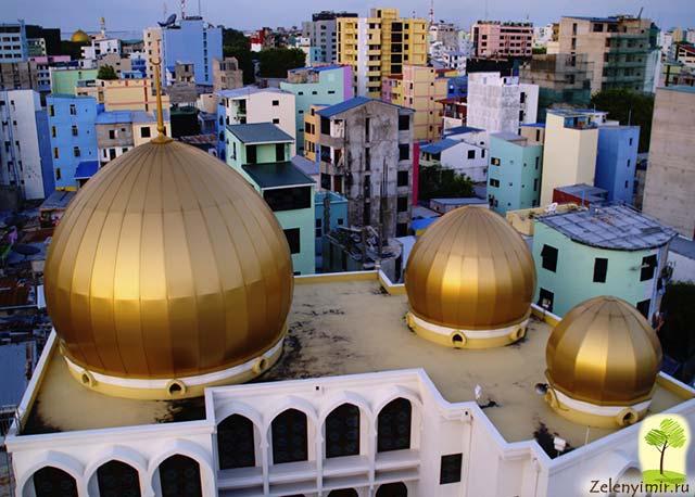 """Красивейшая мечеть """"Великой Пятницы"""" в Мале — исламский центр на Мальдивах - 6"""