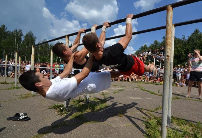 Воркаут - новый вид спорта