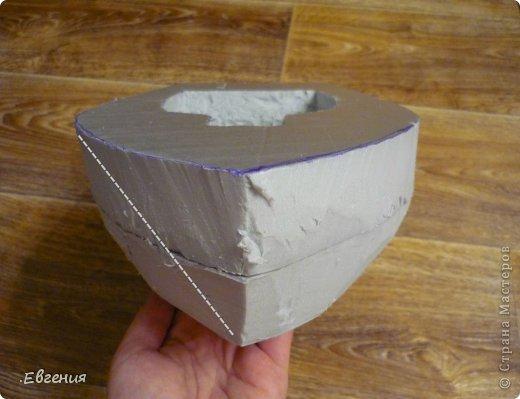 Как сделать корпус для корабля из пенопласта