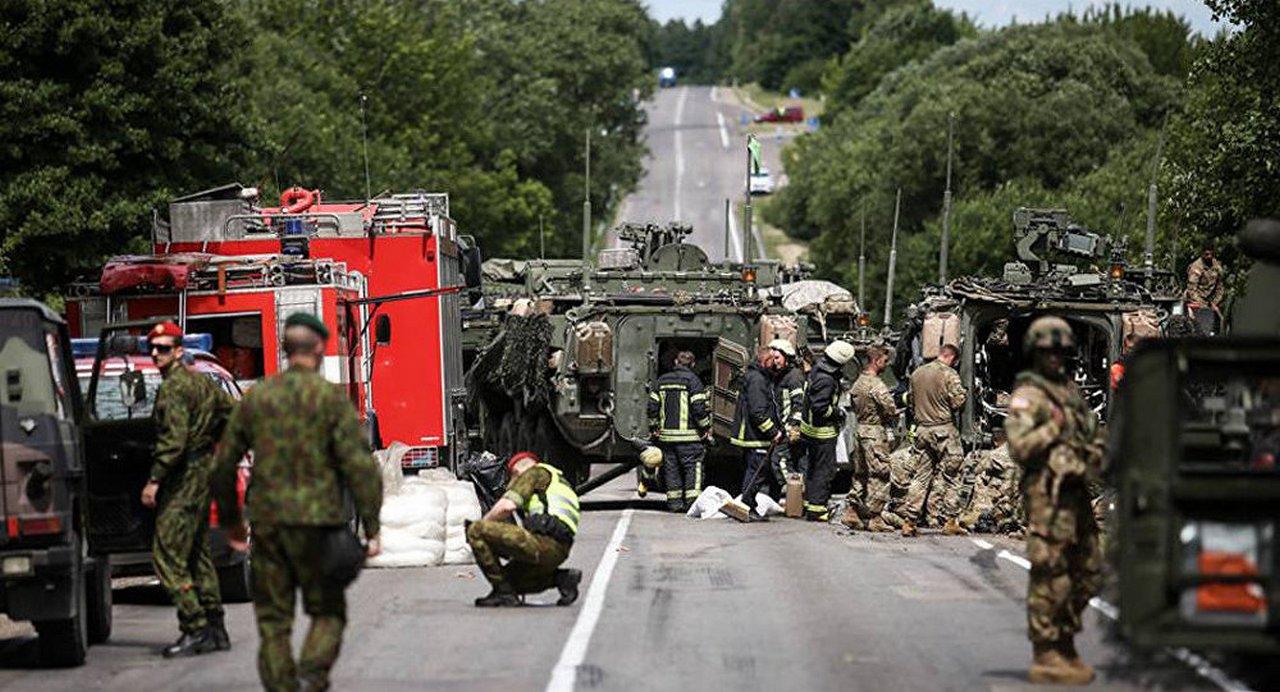 Осторожно! На дорогах асы вождения НАТО!